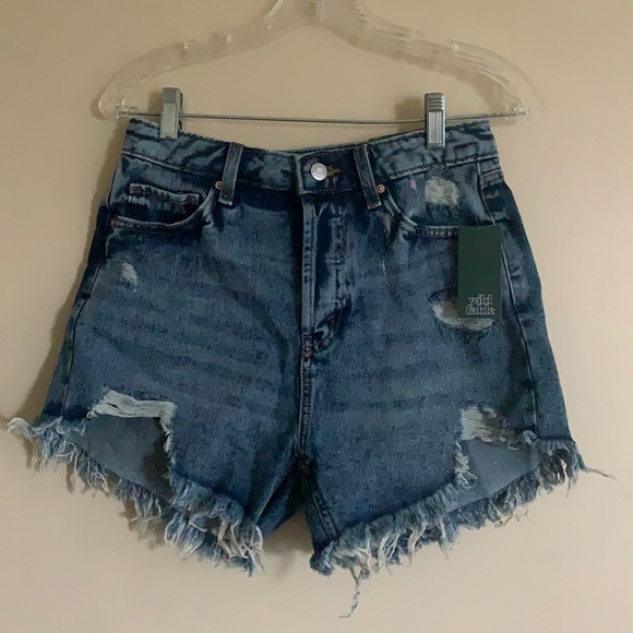 NWT Wild Fable High Rose Jean Shorts